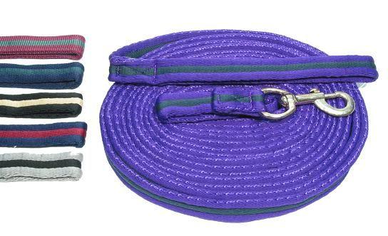 Longe � tourner coton bicolore