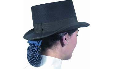 Chapeau de dressage noir